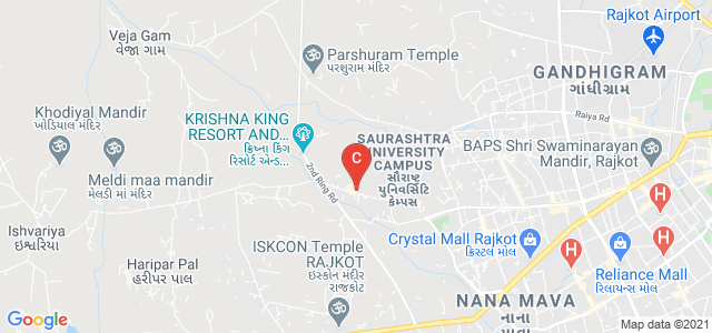 Harivandana College, Road, Saurashtra University Campus, Munjka, Rajkot, Gujarat, India