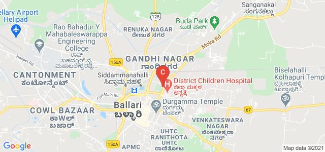 Smt. SSA Govt First Grade College, opp. Govt. Hospital, ಸತ್ಯನಾರಾಯಣ ಪೇಟೆ, Ballari, Karnataka, India