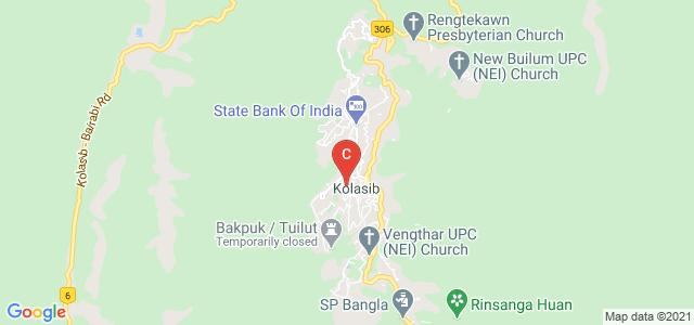 Government Kolasib College, Venglai, Kolasib, Mizoram, India