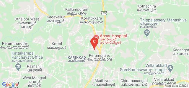 Ansar Training College for Women, Perumpilavu, Kerala, India