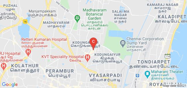 Sree Muthukumaraswamy College, East Avenue, Muthamizh Nagar, Kodungaiyur, Chennai, Tamil Nadu, India
