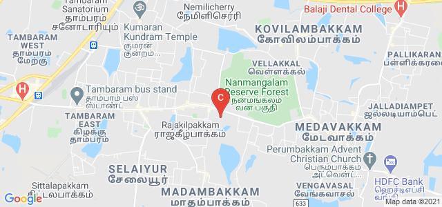 Prince Shri Venkateshwara Arts and Science College, Bharathiyar Street, Sivagami Nagar, Gowrivakkam, Sembakkam, Chennai, Tamil Nadu, India