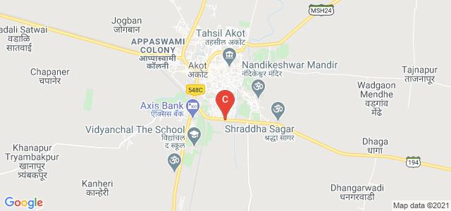 Shivaji Senior College Akot, Maharastra State Highway 194, Pawar Colony, Umiya Asara Colony, Akot, Maharashtra, India
