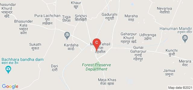 Manda-Meja Link Rd, Meja Khas, Uttar Pradesh 212302, India