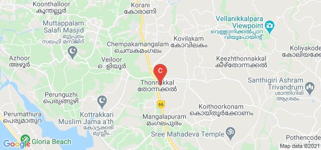A.J College of Science & Technology, Ambalam - Kalloor - Thonnakkal Road, Thonnakkal, Kerala, India