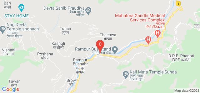 G.B. Pant Memorial Govt Post Graudate College, NH22, Rampur Bushahr, Himachal Pradesh, India