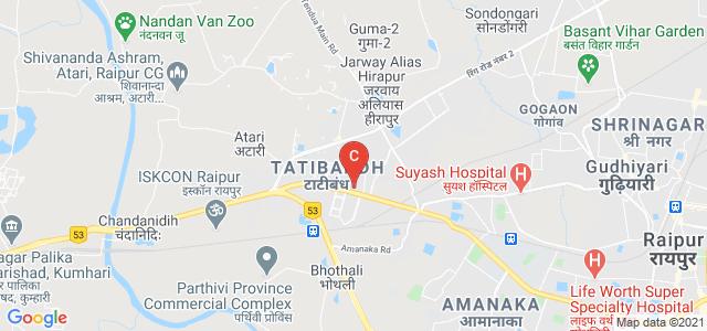 AIIMS Raipur, Great Eastern Road, AIIMS Campus, Tatibandh, Raipur, Chhattisgarh, India
