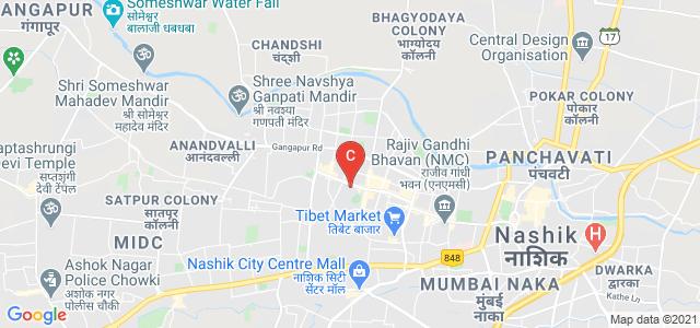 S M R K Mahila Mahavidhyalaya, College Road, Krishi Nagar, Nashik, Maharashtra, India