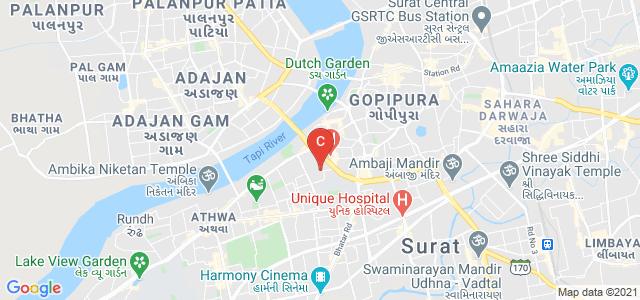 Vanita Vishram Women's College of Commerce, Gaurav Path, Athwa Gate, Surat, Gujarat, India