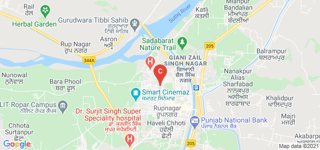 Govt College Ropar, College Road, Gugga Mari Mohalla, Ropar, Punjab, India