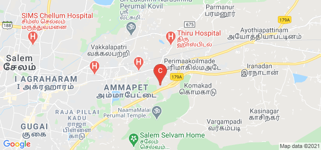 Sri Ganesh College, Salem - Ulundurpettai Highway, Kamarajar Nagar Colony, Ammapet, Salem, Tamil Nadu, India
