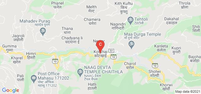 Kotkhai, Shimla, Himachal Pradesh 171202, India