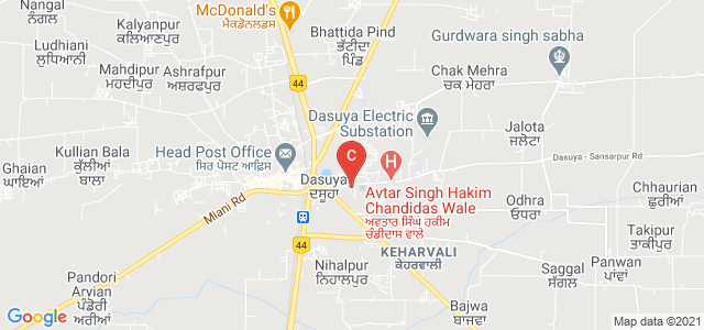Jagdish Chandra D.A.V. College, Keharvali, Dasuya, Punjab, India