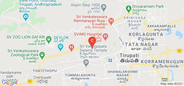 Sri Padmavati Mahila Visvavidyalayam, Tirupati, Andhra Pradesh, India