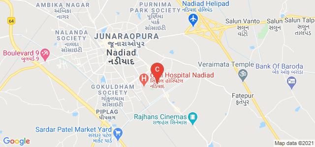 Shri I.V. Patel College of Commerce, College Road, Yogiraj Society, Nadiad, Gujarat, India