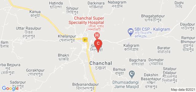 Chanchal College, Chanchal Block Road, Singia, Malda, West Bengal, India