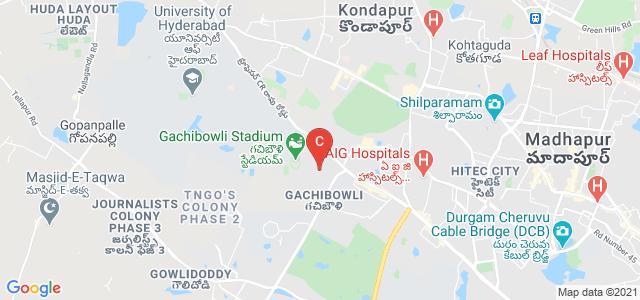 International Institute Of Information Technology, Professor CR Rao Road, Gachibowli, Hyderabad, Telangana, India