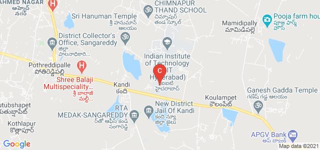 Indian Institute of Technology Hyderabad, Kandi, Telangana, India