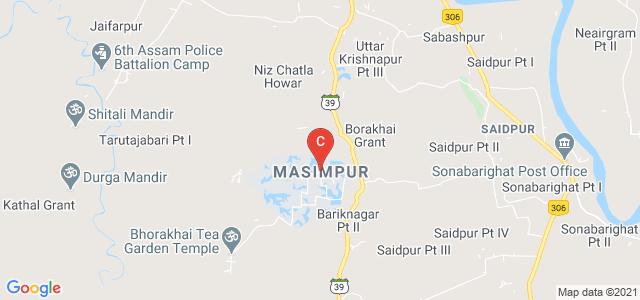 National Institute Of Technology, Silchar, Masimpur, Silchar, Assam, India
