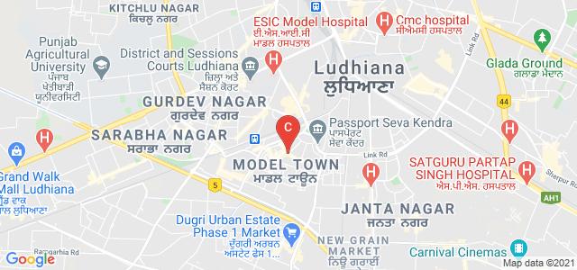 Guru Nanak Girls College, Model Town Road, Pritm Nagar, Model Town, Ludhiana, Punjab, India