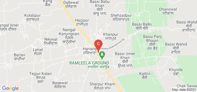 Ggdsd College, Hariana (Hsp.), Hariana, Punjab, India