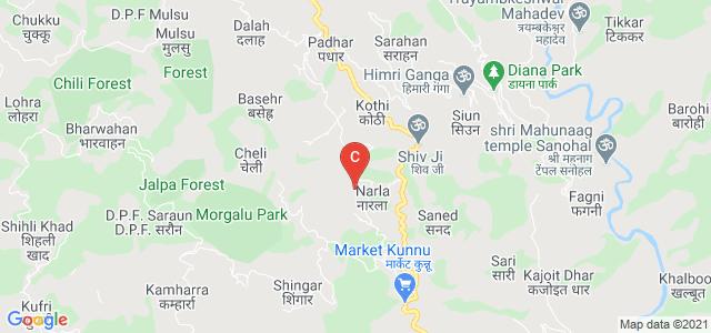 Government Degree College Drang at Narla, Padhar College Road, Narla, Himachal Pradesh, India