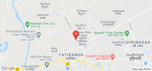 Nandanvan Road, Veer Savarkar Nagar, RDA Colony, Raipur, Chhattisgarh 492099, India