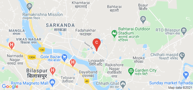 Patwari Training Center Bilaspur Division, Seepat Road, Phase 1, Geetanjali City, Sarkanda, Bilaspur, Chhattisgarh, India