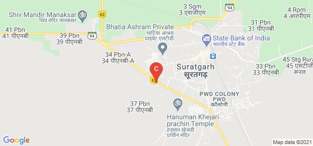 Suratgarh PG College, 37 PBN Village, Suratgarh, Rajasthan, India