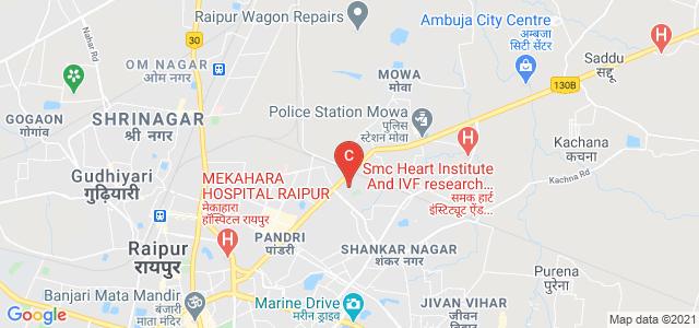 St. Vincent Pallotti College, Lodhi Para Kapa, Raipur, Chhattisgarh, India