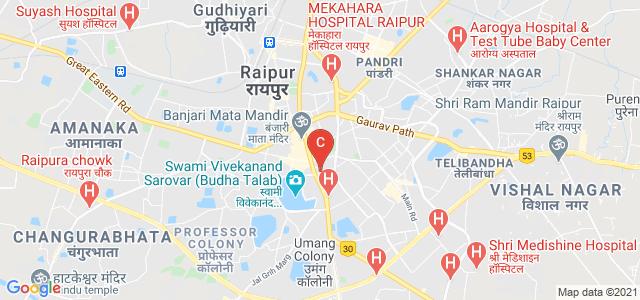 Mahant Laxminarayan Das College, Kalibadi Rd, Gandhi Chowk, Raipur, Chhattisgarh, India