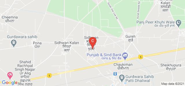 Khalsa College For Women, Sidhwan Khurd Link Road, Sidhwan Khurd, Ludhiana, Punjab, India
