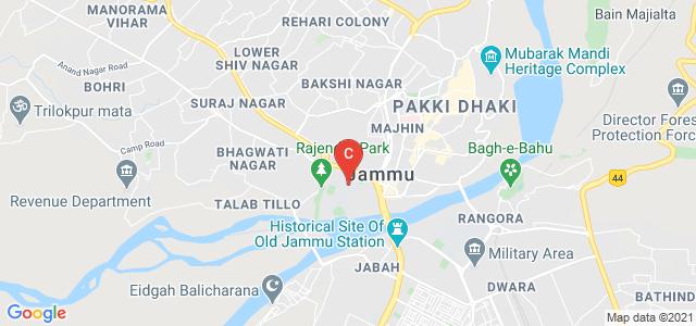 Govt. Gandhi Memorial Science College Jammu, Nawabad, Jammu-Tawi(J&k)