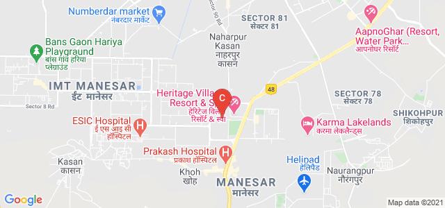 SOIL School of Business Design, South, Phase 1, Institutional Area, Manesar, Gurgaon, Haryana, India