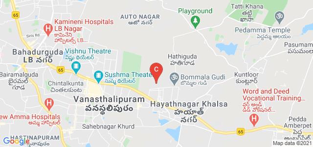 Avanthi's Post Graduate & Research Academy, Shyamala Nagar, Balaji Nagar, Hayathnagar, Hyderabad, Telangana, India