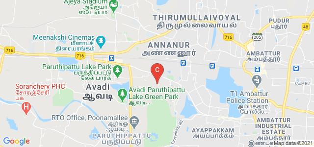Chennai National Arts and Science College, Tonakela Camp Road, Near St. Peter's, University Campus, Avadi, Tamil Nadu, India