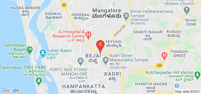 Mangalore Academy Of Professional Studies Speech & Hearing Clinic, behind K.P.T. Ground, Kadri Hills, Kadri, Mangalore, Karnataka, India