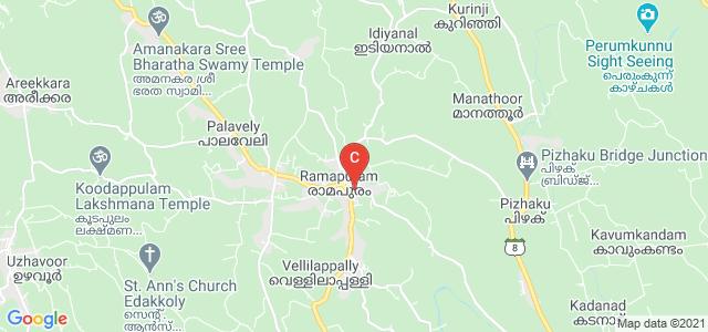 Mar Augusthinose College, Aikombu Road, Ramapuram, Kerala, India