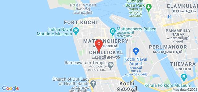 The Cochin College, Indian Bank, Koovapadam, Chullickal, Cochin, Kerala, India