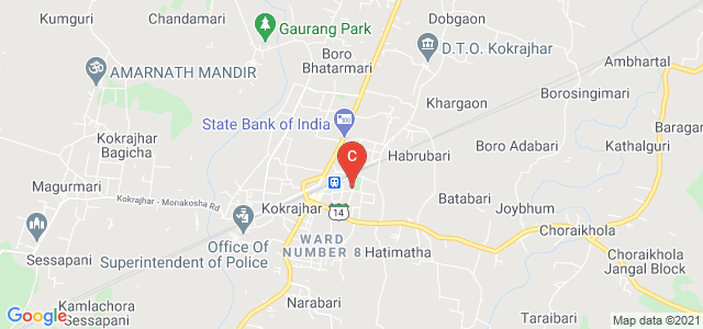 Kokrajhar Govt. College, College Road, BTAD, Kokrajhar, Assam, India