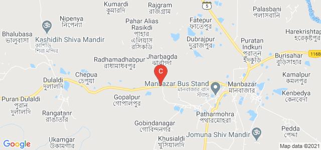 Manbhum Mahavidyalaya Bus Stop, Pairachali - Hirbandh - Manbazer - Barabhum - Balarampur Road, Baludihi, Purulia, West Bengal, India