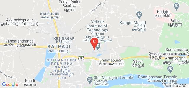 Vellore Institute of Technology, Vellore, Tamil Nadu, India