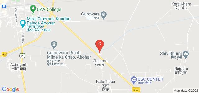Bhag Singh Khalsa College For Women, Abohar, Punjab, India