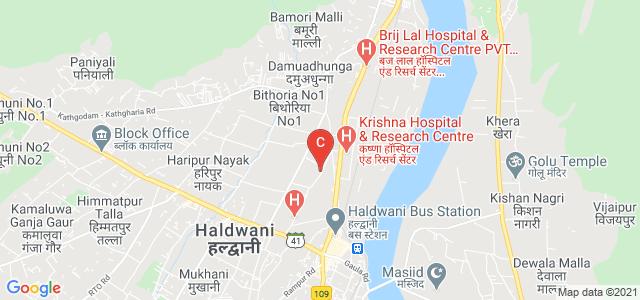 Indira Priyadarshini Govt Girls Commerce PG College, Nawabi Road, Azad Nagar, Subhash Nagar, Haldwani, Uttarakhand, India