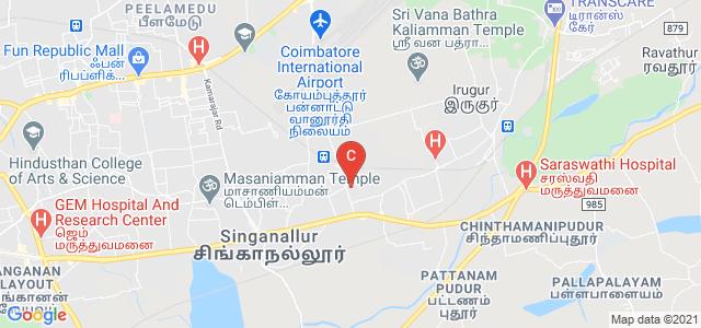 Sri Jayendra Saraswathy Maha Vidyalaya College of Arts & Science, SIHS Colony Road, Singanallur, Coimbatore, Tamil Nadu, India