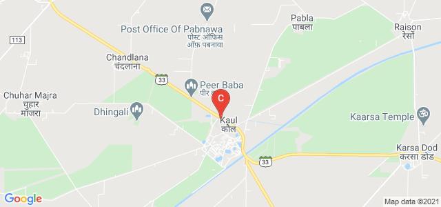 Babu Anant Ram Janta College Kaul, State Highway 9, Kaul, Haryana, India