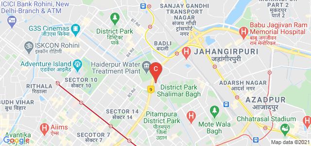 Vivekananda Institute of Professional Studies, Outer Ring Road, AU Block, Ranikhet, Pitampura, Delhi, India