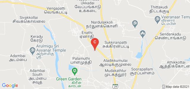 Enathi Rajappa Arts and Science college, State Highway 99, Enathi, Tamil Nadu, India