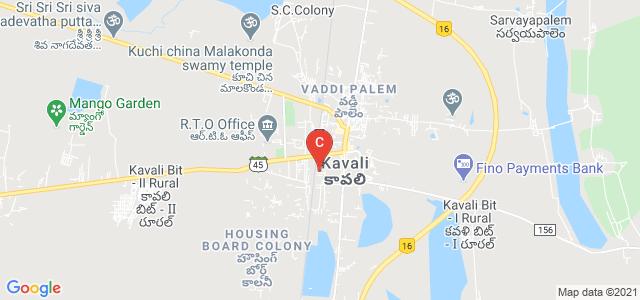 M.S.R DEGREE COLLEGE, Co-Operative Colony, Christian Peta, Kavali, Andhra Pradesh, India