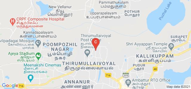 Vel Tech Multi Tech Dr.Rangarajan Dr.Sakunthala Engineering College, Chennai, Tamil Nadu, India